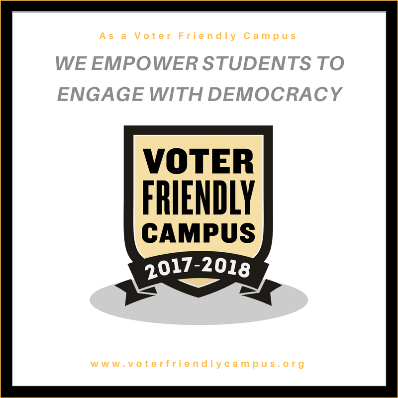 Voter Friendly Campus: We Empower Students to Engage with Democracy